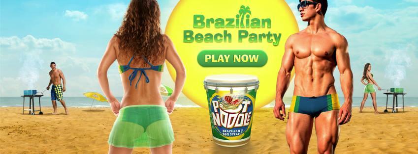 Pot Noodle Beach Party