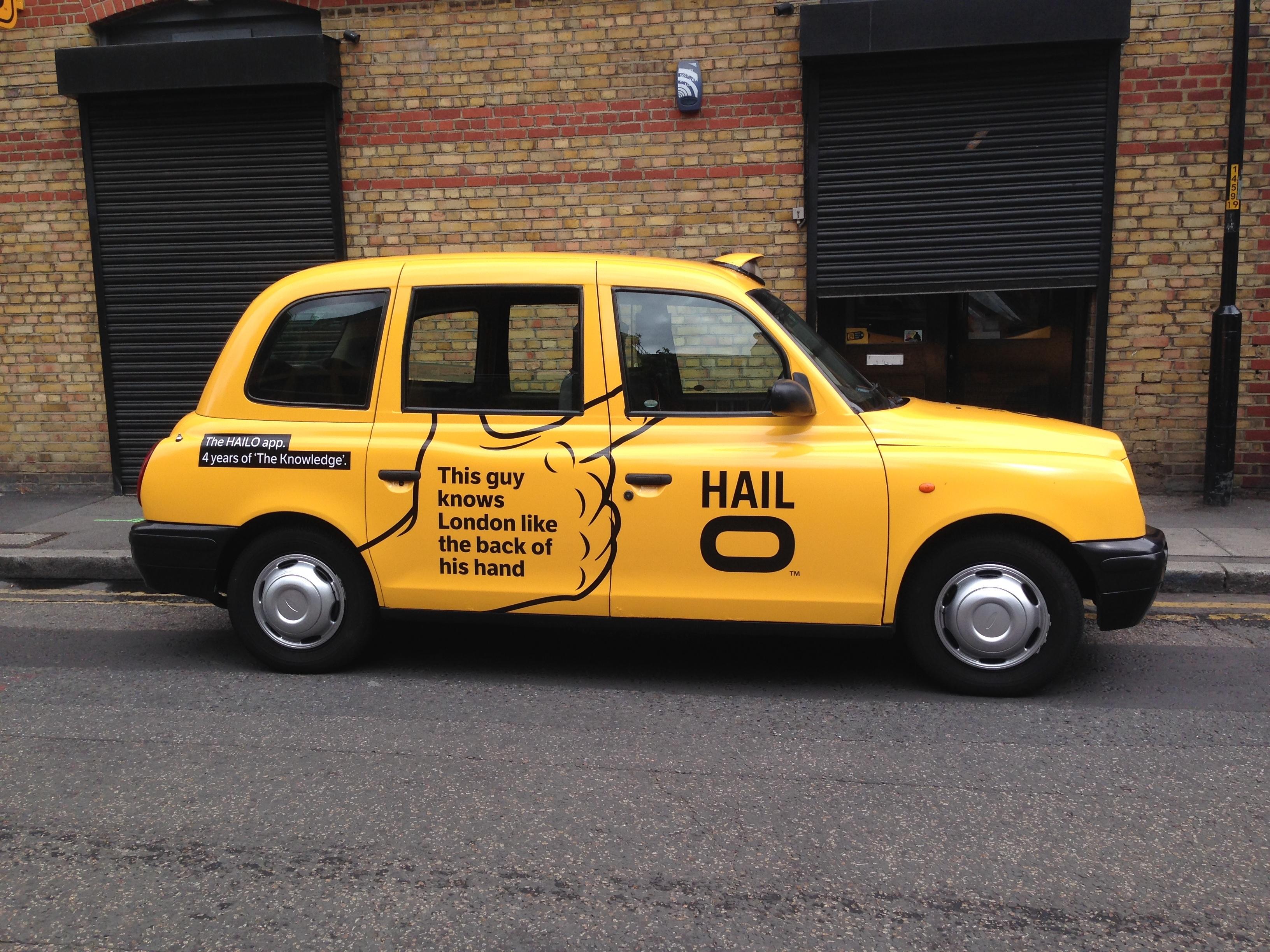 Hailo Taxi Wrap